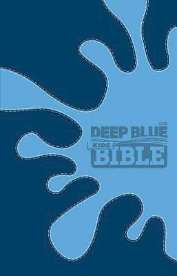Picture of CEB Deep Blue Kids Bible Decotone Midnight Splash