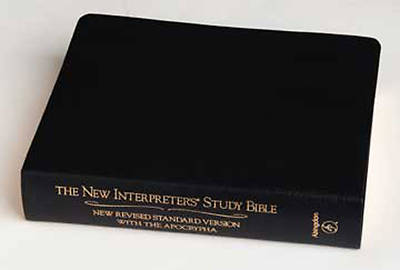 New Interpreters Study Bible Genuine Leather Black