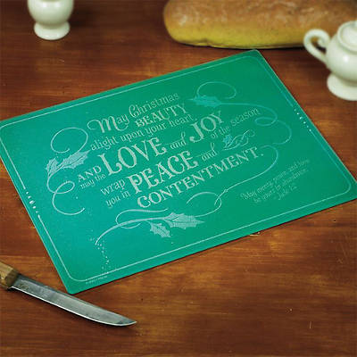 Christmas Beauty, Love, Joy Cutting Board
