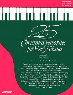 25 Christmas Favorites for Easy Piano
