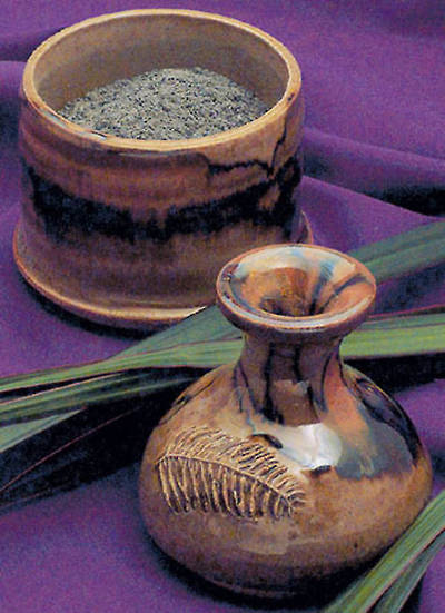 Picture of Palm Leaf Ashes 10 Grams Package Services 100