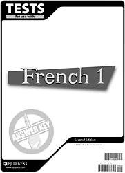 French 1 Test Pack Answer Key 2nd Edition