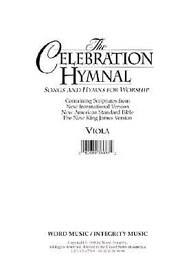 Celebration Hymnal Viola/Melody CD-ROM (PDF)