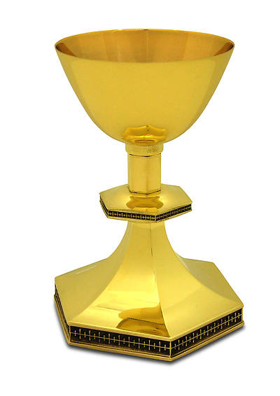 CREATORS  STAR GOLD PLATED CHALICE