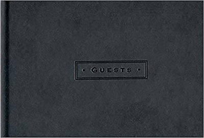Picture of Classic Black Guest Book