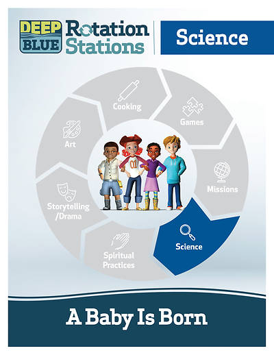 Picture of Deep Blue Rotation Station: A Baby Is Born - Science Station Download