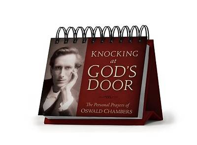 Picture of Knocking at God's Door Perpetual Calendar - Page a Day