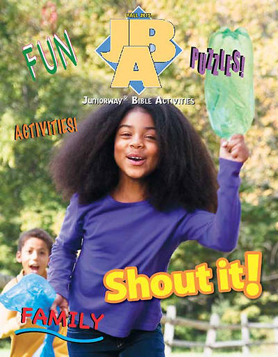 Picture of UMI Juniorway Bible Activity Book  Fall 2015
