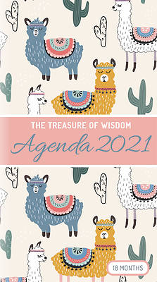 Picture of The Treasure of Wisdom - 2021 Pocket Planner - Llamas