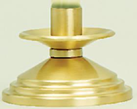 "Picture of Koleys K525-CS 2"" Brass Candlestick 7/8"" Socket"