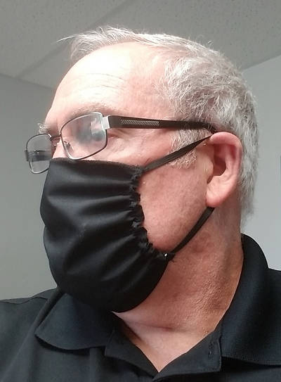Picture of Reusable Cloth Barrier Face Mask