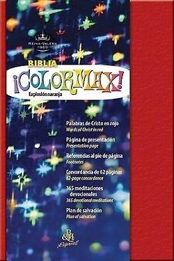 Picture of Biblia Colormax!-Rvr 1960-Pocket