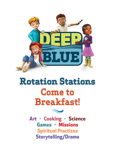 Deep Blue Rotation Station Come To Breakfast!