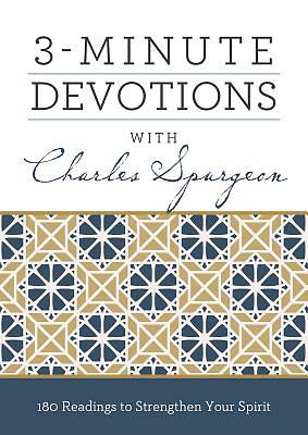 Picture of 3-Minute Devotions with Charles Spurgeon