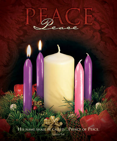 Picture of Peace Advent Week 2 Legal Size Bulletin