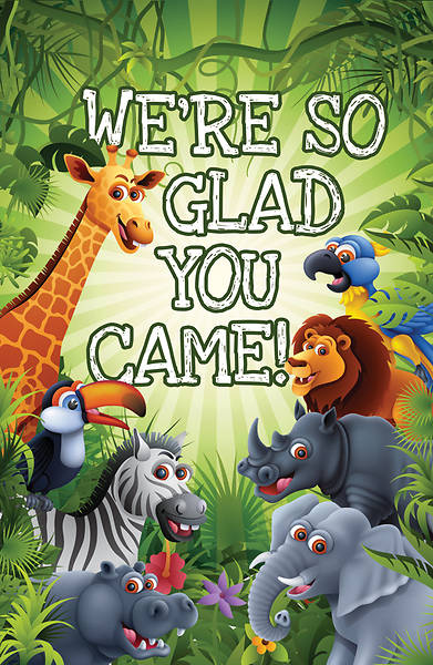 Glad You were Here Postcard-Kids (Pkg of 25)