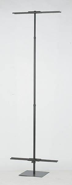 Double-Sided Black Banner Stand