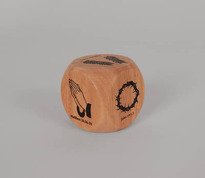 Picture of Easter Story Wooden Cube