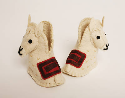 Picture of Infant Llama Zooties Shoes