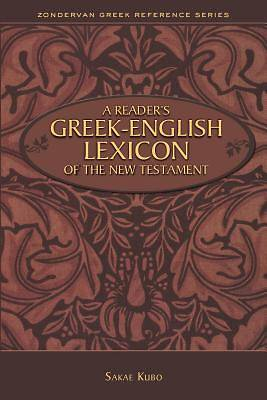 Picture of A Reader's Greek-English Lexicon of the New Testament