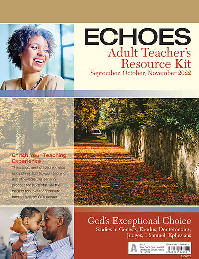 Picture of Echoes Adult Teacher Resource Kit Fall