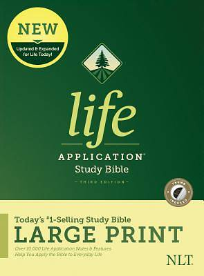 NLT Life Application Study Bible, Third Edition, Large Print (Hardcover, Indexed)