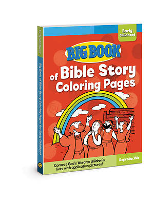 Picture of Big Book of Bible Story Coloring Pages for Early Childhood ( Big Books )