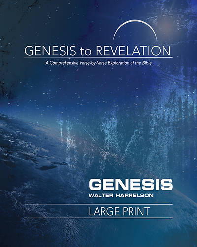 Picture of Genesis to Revelation: Genesis Participant Book [Large Print]