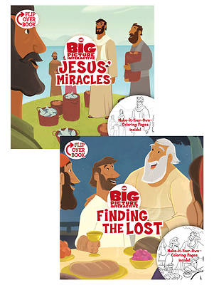 Jesus Miracles/Finding the Lost, Flip-Over Book