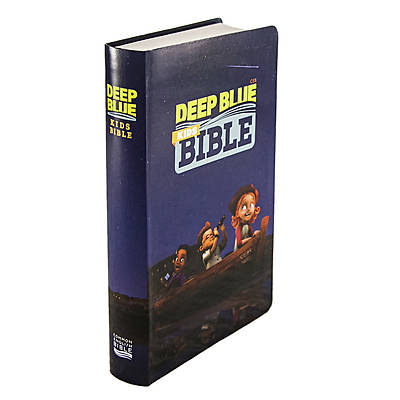 CEB Common English Deep Blue Kids Bible ImageFlex Cover