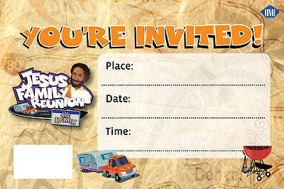 UMI VBS 2013 Jesus Family Reunion: The Remix Invitation Post Cards (PK 50)