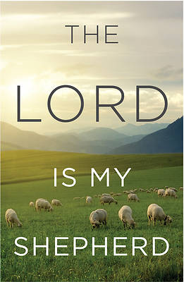 Picture of The Lord Is My Shepherd (Pkg of 25)
