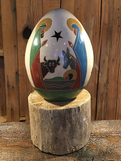 Picture of Nativity Luminary with Animals
