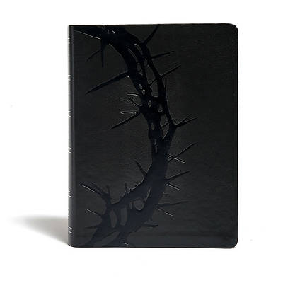 Picture of KJV Study Bible, Charcoal Leathertouch