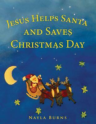 Picture of Jesus Helps Santa and Saves Christmas Day