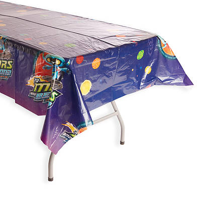 Picture of Vacation Bible School (VBS) To Mars and Beyond Tablecloth