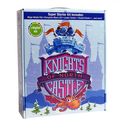 Picture of Vacation Bible School (VBS) 2020 Knights of North Castle Super Starter Kit Plus Digital