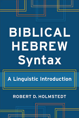 Picture of Biblical Hebrew Syntax