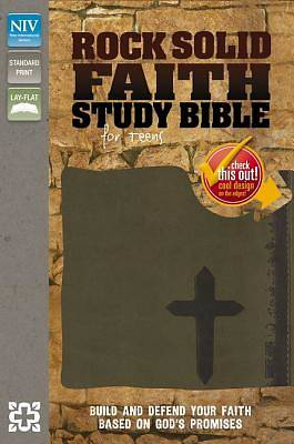 Rock Solid Faith Study Bible for Teens, NIV