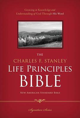 Picture of Charles F. Stanley Life Principles Bible-NASB-Signature