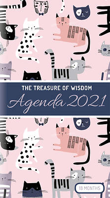 Picture of The Treasure of Wisdom - 2021 Pocket Planner - Cats