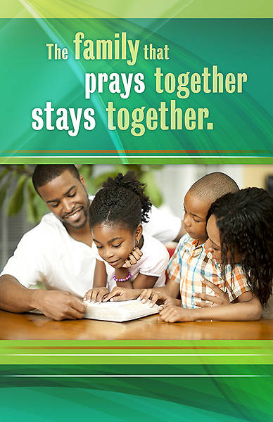 The Family that Prays Together, Stays Together Regular Size Bulletin