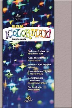 Biblia Colormax!-Rvr 1960-Pocket
