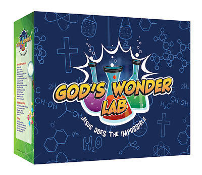 Picture of Vacation Bible School VBS 2021 God's Wonder Lab Starter Kit