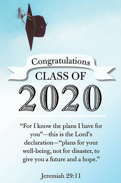 Congratulations 2020 Graduation Regular Size Bulletin
