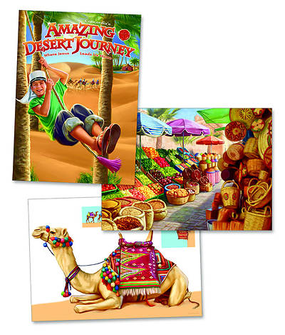 Concordia Vacation Bible School 2012 Amazing Desert Journey Desert Decorating Posters (pkg of 3)
