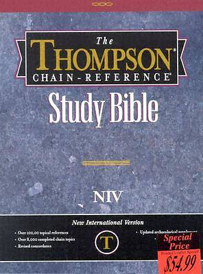 Picture of Thompson Chain Reference Bible-NIV