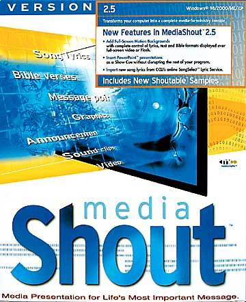 Media Shout 2.5 Version