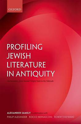 Profiling Jewish Literature in Antiquity
