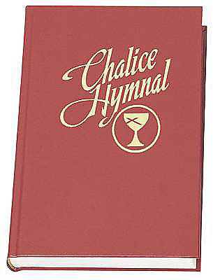 Chalice Hymnal Large Print Edition Without Cover-Red